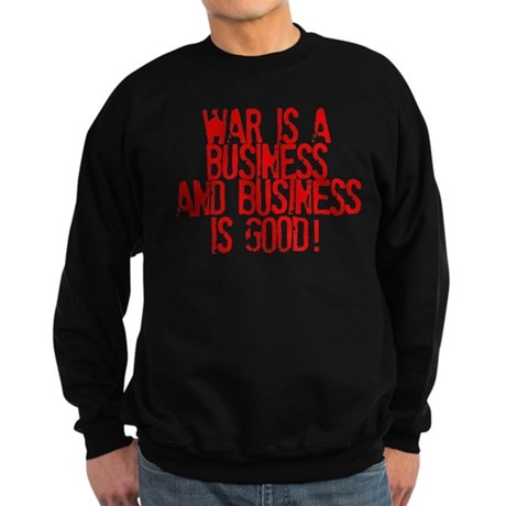 WAR Business Sweatshirt (dark)
