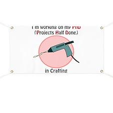 Crafting PhD Banner