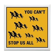 STAY AWAY FROM ARIZONA Tile Coaster