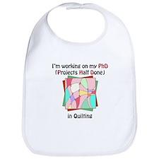 Quilting PhD Bib