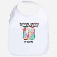 Quilting PhD Bib