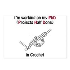Crochet PhD Postcards (Package of 8)