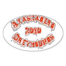 ATASCADERO GREYHOUNDS *2* Decal