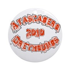 ATASCADERO GREYHOUNDS *2* Ornament (Round)