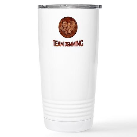"""Team Demming"" Stainless Steel Travel Mug"