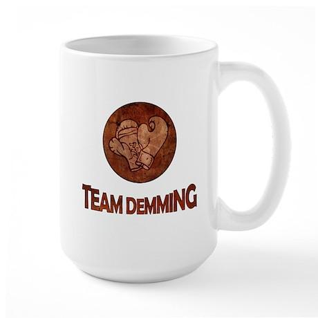 """Team Demming"" Large Mug"