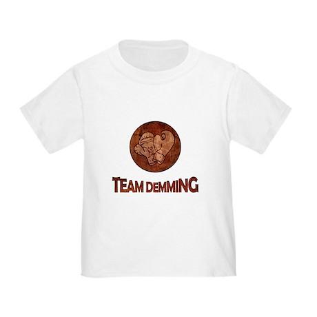 """""""Team Demming"""" Toddler T-Shirt"""