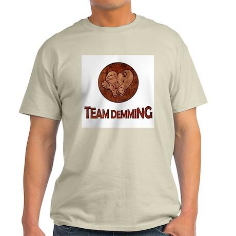"""Team Demming"" Light T-Shirt"