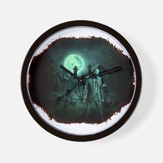 Zombies!! Wall Clock