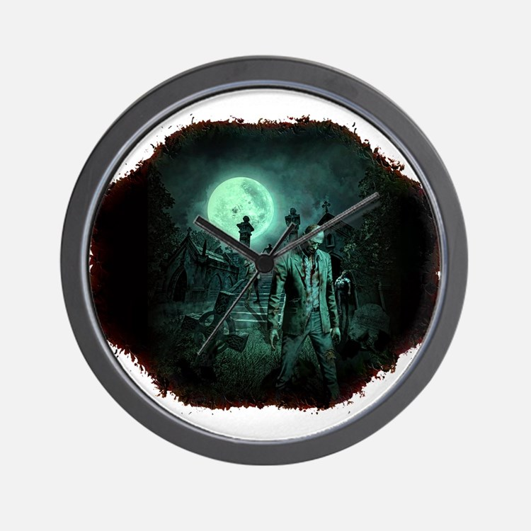 Zombies!! Wall Clock