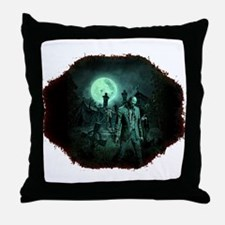 Zombies!! Throw Pillow