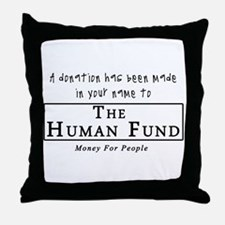 A Donation Has Been Made In Y Throw Pillow