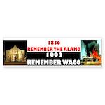 Remember The Alamo Sticker (Bumper 10 pk)