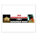 Remember The Alamo Small Poster