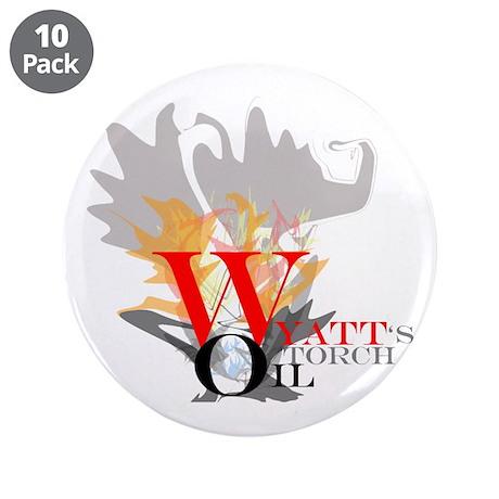 """Wyatt's Torch 3.5"""" Button (10 pack)"""