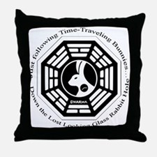 Lost Looking Glass Throw Pillow