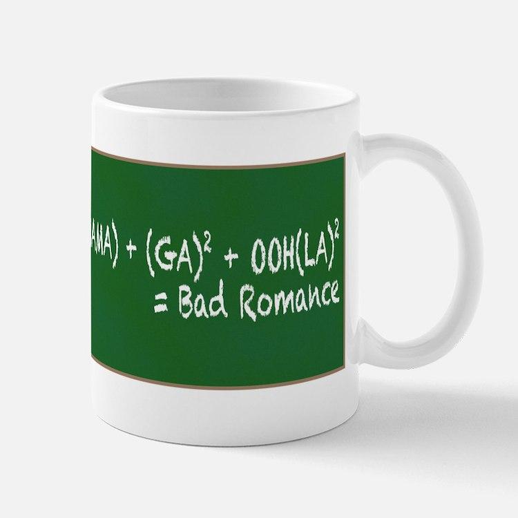 Bad Romance Math Mug