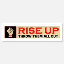 RISE UP IN 2010 Bumper Bumper Sticker