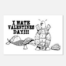 I Hate Valentines Day Postcards (Package of 8)