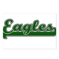 EAGLES *10* Postcards (Package of 8)