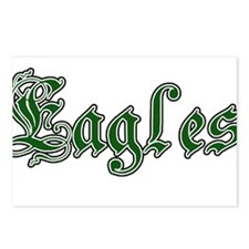 EAGLES *11* Postcards (Package of 8)