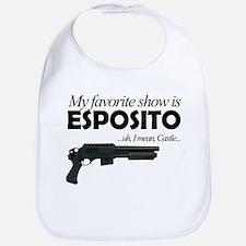 """""""Favorite Show Esposito"""" Bib"""