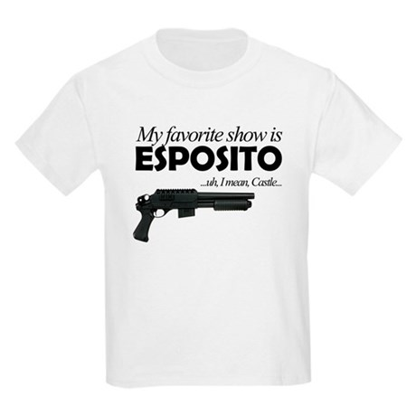 """Favorite Show Esposito"" Kids Light T-Shirt"
