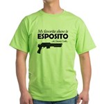 """Favorite Show Esposito"" Green T-Shirt"
