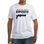 """Favorite Show Esposito"" Fitted T-Shirt"