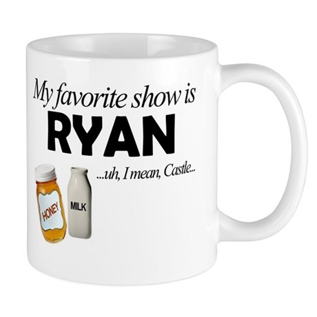 """Favorite Show Ryan"" Mug"