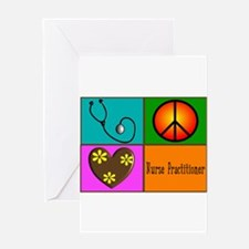 nurse practitioner Greeting Card