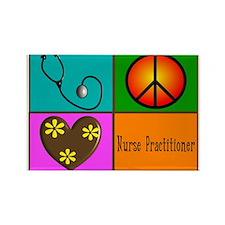 nurse practitioner Rectangle Magnet (10 pack)