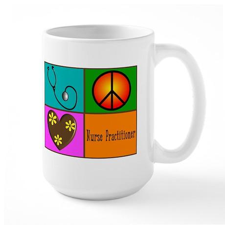 nurse practitioner Large Mug