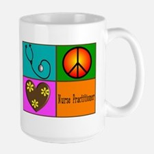 nurse practitioner Large Mug