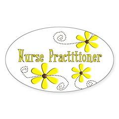 nurse practitioner Decal