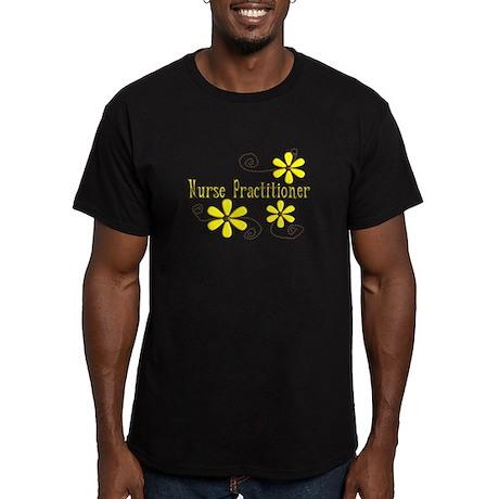 nurse practitioner Men's Fitted T-Shirt (dark)