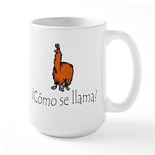Como Se Llama (The Original 2005 Print) Mug