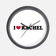 I LOVE RACHEL ~  Wall Clock