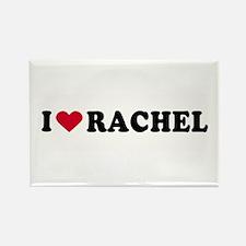 I LOVE RACHEL ~ Rectangle Magnet
