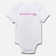 Broadway Star In Training Infant Bodysuit