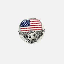 Soccer Fan United States Mini Button