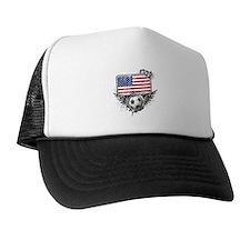 Soccer Fan United States Trucker Hat