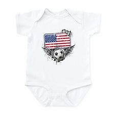Soccer Fan United States Infant Bodysuit