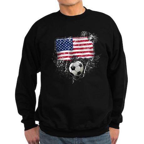 Soccer Fan United States Sweatshirt (dark)