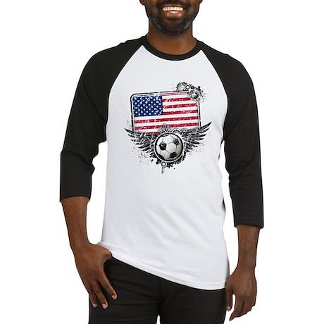 Soccer Fan United States Baseball Jersey