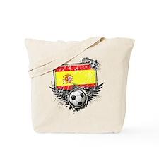 Soccer Fan Spain Tote Bag