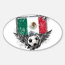 Soccer Fan Mexico Decal