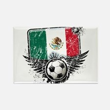 Soccer Fan Mexico Rectangle Magnet