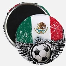 "Soccer Fan Mexico 2.25"" Magnet (100 pack)"