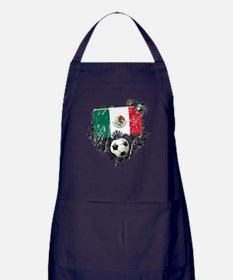 Soccer Fan Mexico Apron (dark)